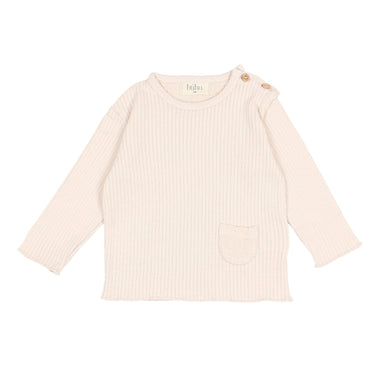 Búho Paris Soft Rib T-shirt | Rose