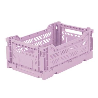 Lillemor Folding Crate Mini | Lila