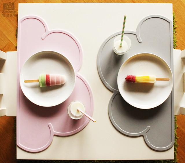 KG Design Placemat wolk grey - DE GELE FLAMINGO - Kids concept store