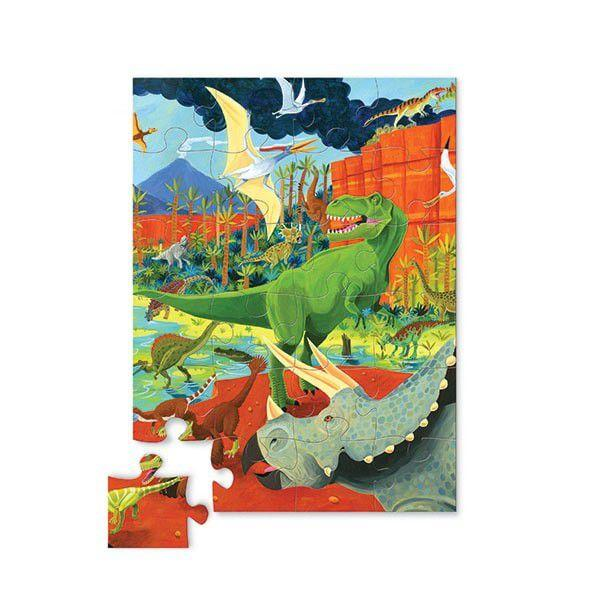 Crocodile Creek puzzel 24 stukken - Land of dinosaurs