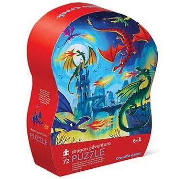Crocodile Creek puzzel 72 stukken - Dragon Adventure