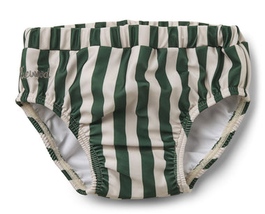 Liewood Frej Baby Boy Swim Pants | Garden Green/ Sandy