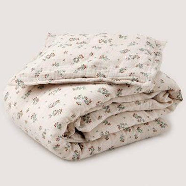 Garbo & Friends Bedset Muslin Junior 100x140cm | Clover
