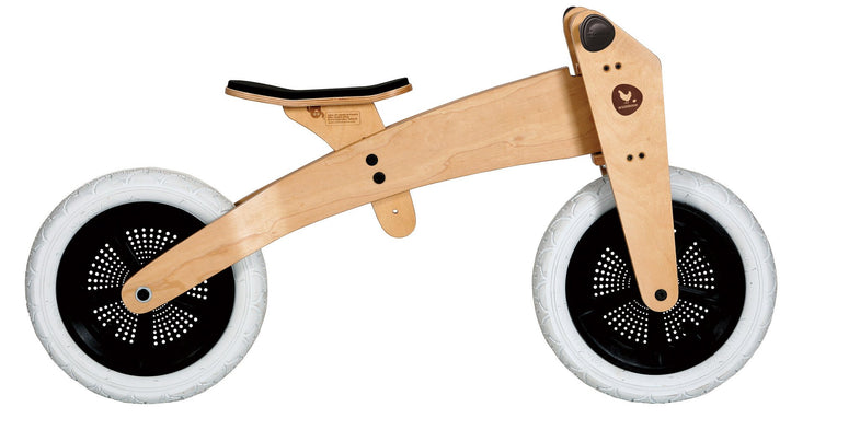 Wishbone bike 2-in-1 Bike original - DE GELE FLAMINGO - 3