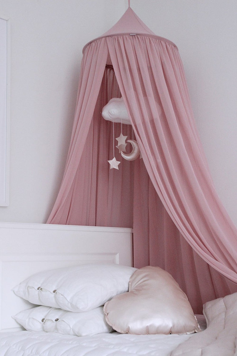Cotton & Sweets Klamboo 235cm voile Blush Pink