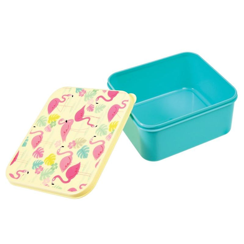 Lunch box - Flamingo - DE GELE FLAMINGO - 2