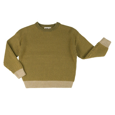 CarlijnQ Basic Knit Sweater | Olive