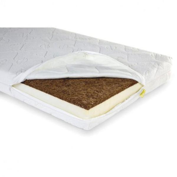 Childhome DUO KOKOS NATURAL SAFE SLEEPER MATRAS 60x120cm