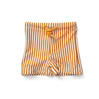Liewood Otto swim pants | Stripe Mustard White
