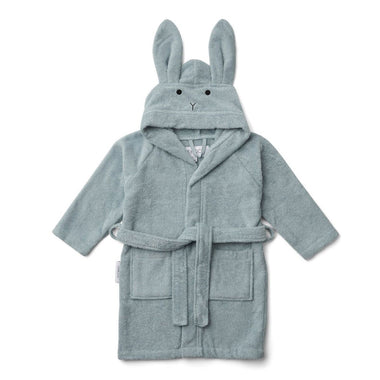 Liewood Lily Bathrobe | Rabbit Sea Blue