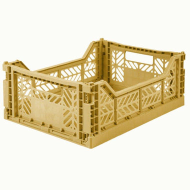Eef Lillemor Folding Crate Midi | Gold