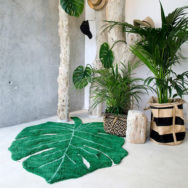 Lorena Canals machinewasbaar tapijt 120x180cm Monstera Leaf
