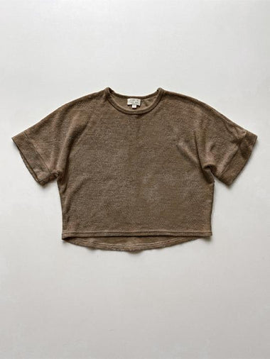 The Simple Folk The Oversized Terry Top | Walnut