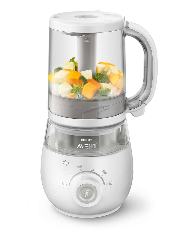 Avent Steamer/Blender 4-in-1 - DE GELE FLAMINGO - Kids concept store