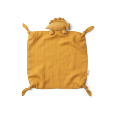 Liewood Agnete Cuddle Cloth | Dino yellow mellow