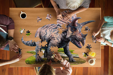 Madd Capp I Am Lil' Puzzel 100st Triceratops