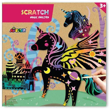 Avenir Scratch Knutselset Kras | 4 Magic Unicorns