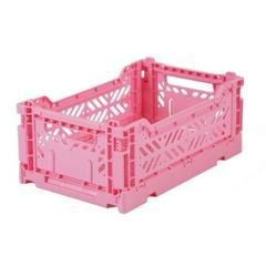 Eef Lillemor Folding Crate Midi | Baby Pink