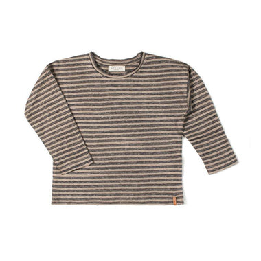 Nixnut Be Longsleeve | Biscuit Stripe