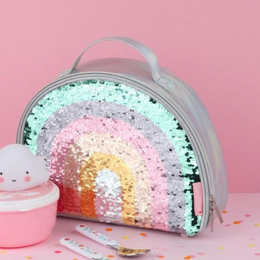 A Little Lovely Company Cool Bag - Thermische Lunch tas - Rainbow