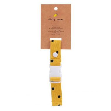 Sticky Lemon Chest Strap | Freckles Retro Yellow
