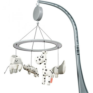 Done By Deer muziekmobiel met spiegel - Sleepy grey