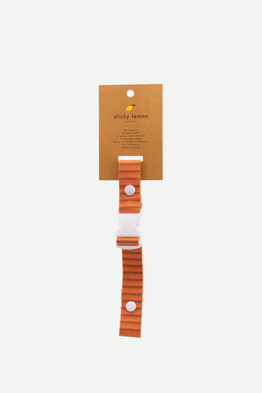 Sticky Lemon Chest Strap | Stripes Carrot Orange