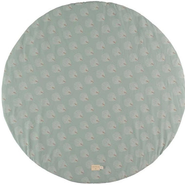Nobodinoz Full Moon Speeltapijt 105cm | White Gatsby/Antique Green