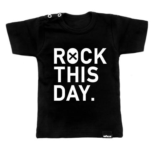 VanPauline shirt Rock this day - DE GELE FLAMINGO - 1