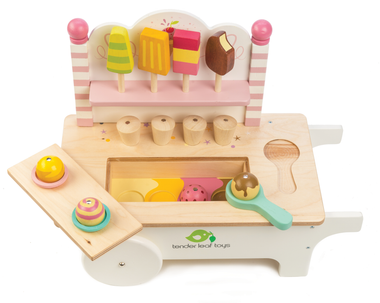 Tender Leaf Toys - Ice cream cart