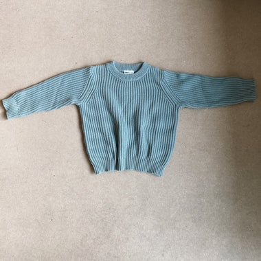 Maed For Mini Sweater | Breezy Bluejay