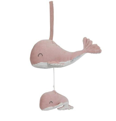 Little Dutch muziekdoosje Walvis | Ocean Pink