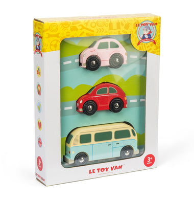 Le Toy Van Set Auto's Metro Car Set