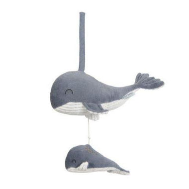 Little Dutch muziekdoosje Walvis | Blue