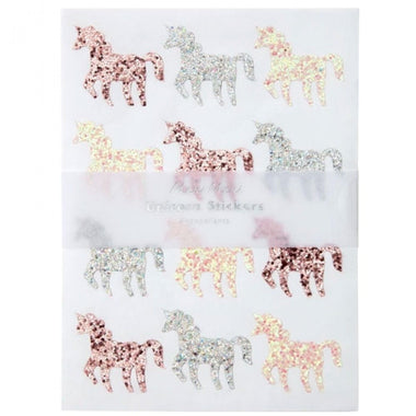 Meri Meri Set van 120 Unicorn Glitter Stickers
