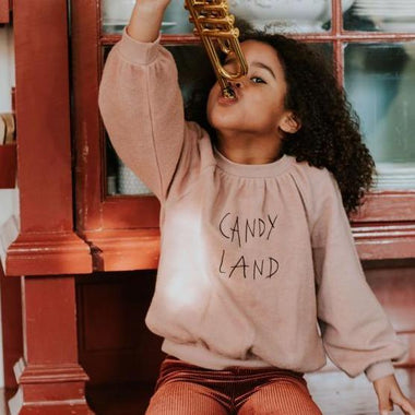 Sproet & Sprout Sweatshirt Brushed | Candy Land
