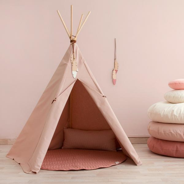 Nobodinoz tipi large Bloom Pink - DE GELE FLAMINGO - 3