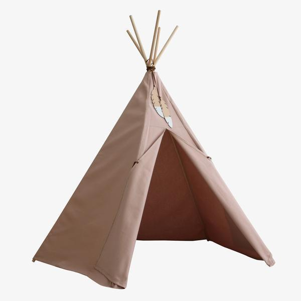 Nobodinoz tipi large Bloom Pink - DE GELE FLAMINGO - 2