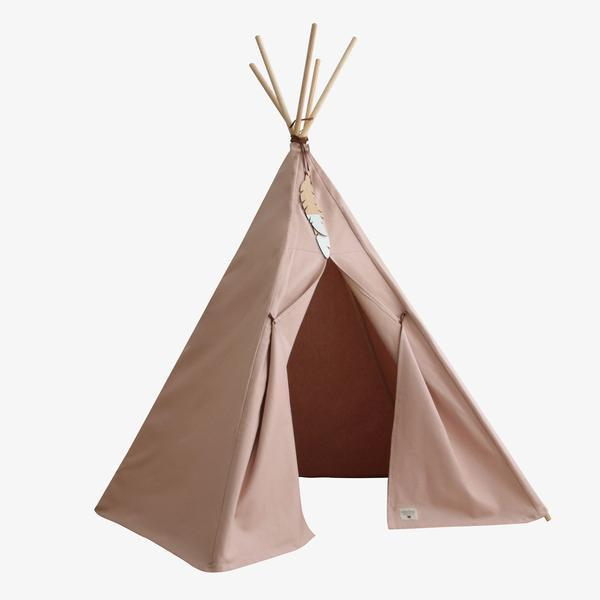 Nobodinoz tipi large Bloom Pink - DE GELE FLAMINGO - 1