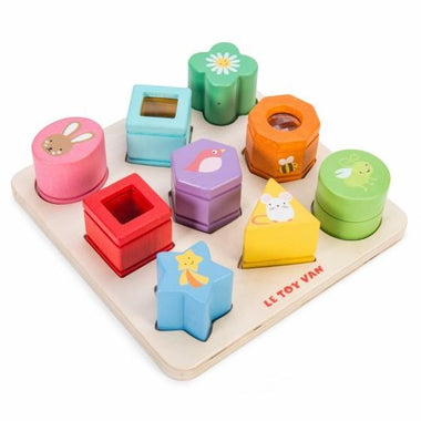 Le Toy Van Sensory Shapes Inlegpuzzel
