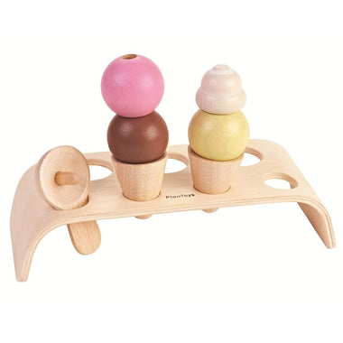 Plantoys houten Ice cream set