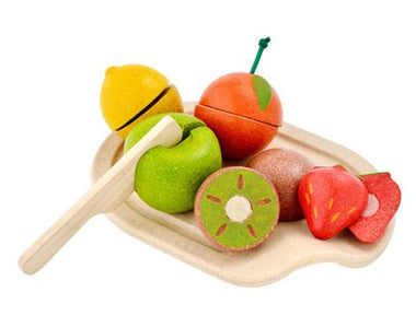 Plantoys houten fruit assortiment