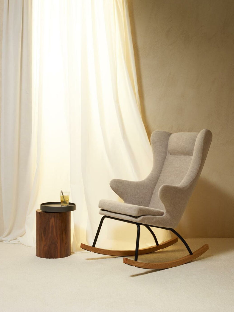 Quax Rocking Adult Chair De Luxe - Clay
