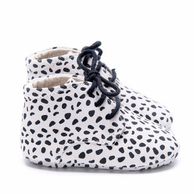 Mockies Classic Boot Speckles | White