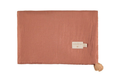 Nobodinoz dekentje 100x70cm Treasure summer blanket - Toffee