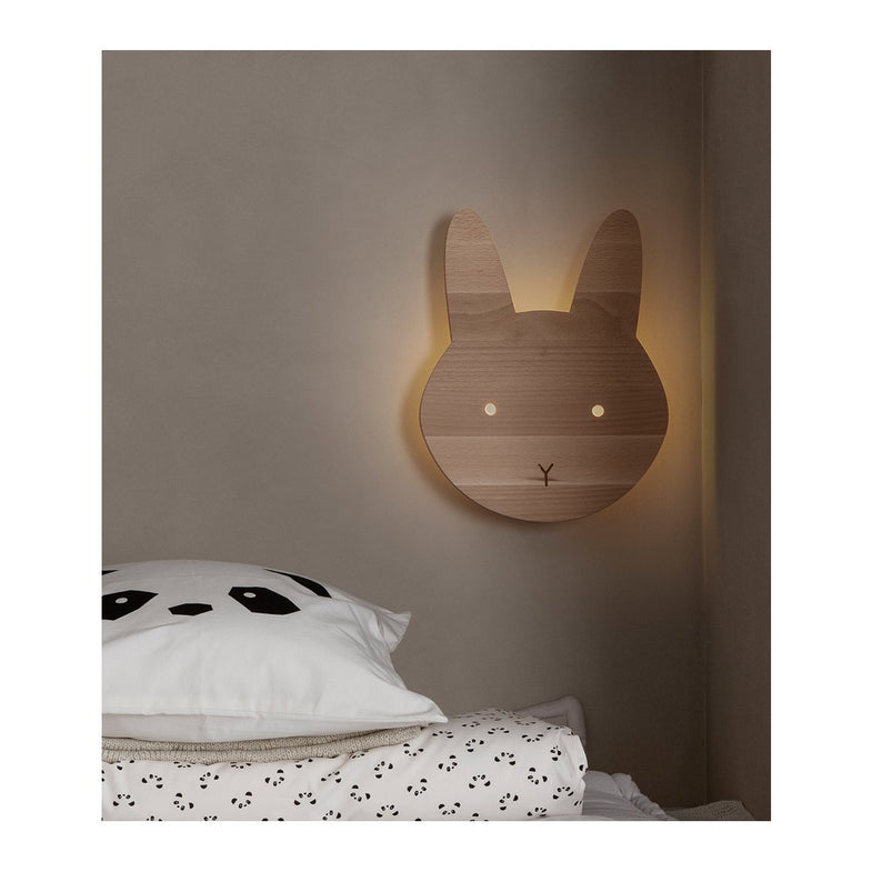Liewood Troy Houten Wandlamp | Cat Natural