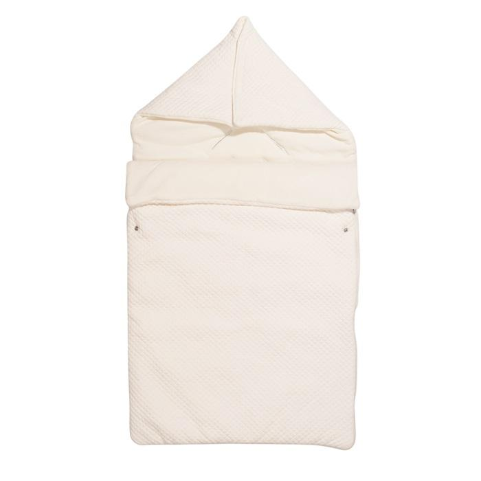 Les rêves d'anais voetenzak maxi cosi Quilted Ivory