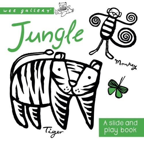 Wee Gallery Baby slide and play boek Jungle