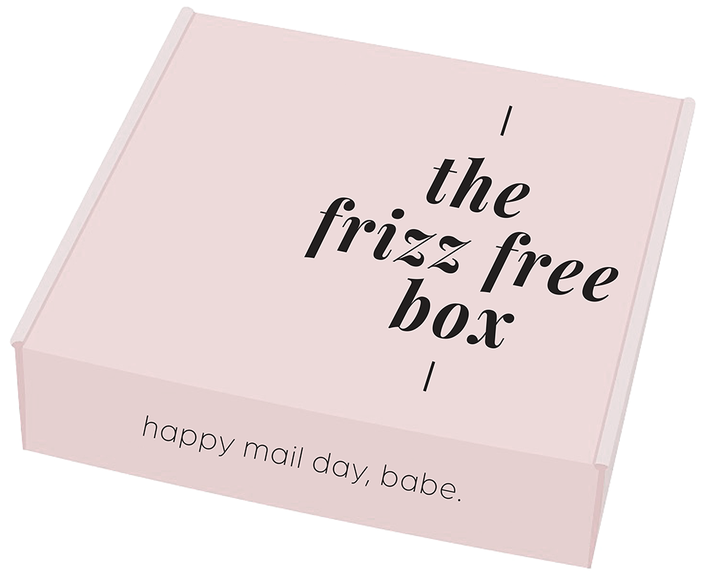 "the ""frizz free"" box"