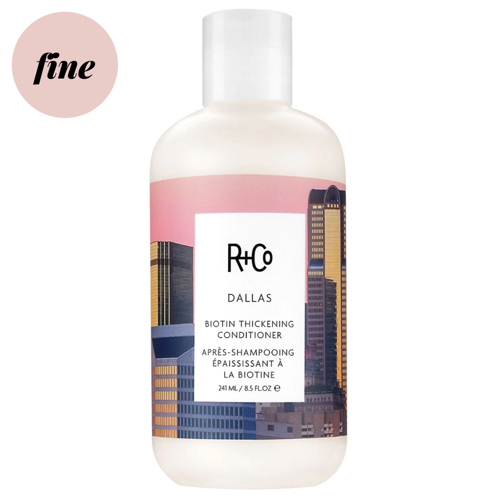 R+Co Dallas Biotin Thickening Conditioner | The Tress Club